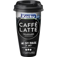 Caffe Latte sin azúcar KAIKU, vaso 230 ml
