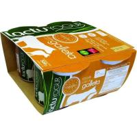 Yogur sabor galleta LACTUYOGUR, pack 4x125 g