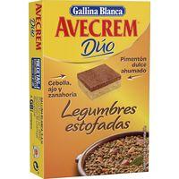 Caldo de legumbres estofadas AVECREM, 8 pastillas, caja 112 g