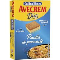 Caldo de paella de pescado AVECREM, 8 pastillas, caja 112 g