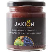 Mermelada de manzana-arándanos JAKION, frasco 280 g