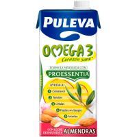 Leche omega3 con almendras PULEVA, brik 1 litro