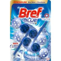 Limpiador wc poder activo azul BREF, pack2
