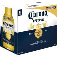 Cerveza mexicana CORONA, pack botellín 10x35,5 cl