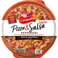 Pizza&Salsa pepperoni picante CAMPOFRÍO, 1 ud., 345 g