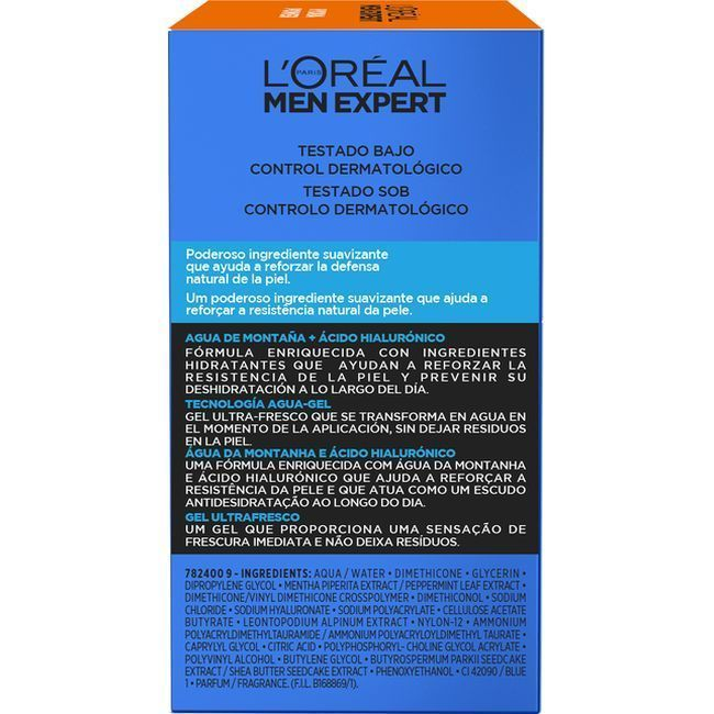 Hidratante refres. Hydra Power L`OREAL Men Expert, tarro 50 ml