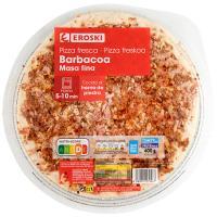 Pizza barbacoa EROSKI, 1 unid., 400 g
