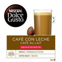 Café con leche descafeinado NESCAFÉ D. Gusto, caja 16 monodosis