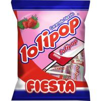 Caramelo masticable Lolipop FIESTA, bolsa 80 g