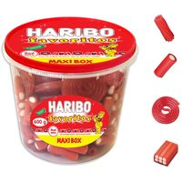 Maxibox Favoritos Red MixHARIBO, tarrina 600 g
