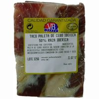 Taco de paleta ibérica VB, taco aprox. 350 g