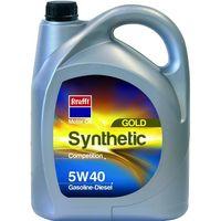 Aceite sintético 5w40 gasolina y diésel KRAFFT, 5l