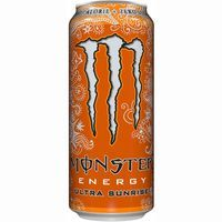 Bebida energética Ultra Sunrise MONSTER, lata 50 cl