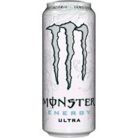 Bebida energética Ultra White MONSTER, lata 50 cl
