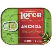 Anchoa del Cantábrico en aceite de oliva LOREA, lata 45 g