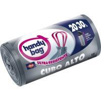 Bolsa de basura para cubo alto 30 l. HANDY BAG, paquete 15 unid.