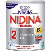 Leche de continuación NIDINA Confort Digest 2, lata 800 g