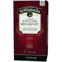 Té English Breakfast Rfa SIR WINSTON TEA, caja 20 sobres