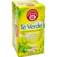 Té verde Lemongrass POMPADOUR, caja 20 monodosis