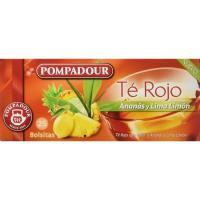 Té rojo Ananás POMPADOUR, caja 25 sobres