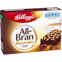 Bizcochitos de chocolate KELLOGG`S All-Bran, caja 240 g