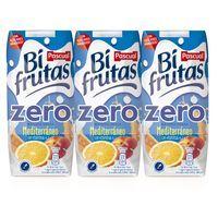 Bifrutas Zero Mediterráneo PASCUAL, pack 3x330 ml
