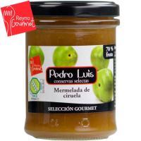 Mermelada de ciruela PEDRO LUIS Gourmet, frasco 220 g