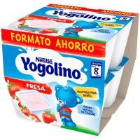 Iogolino de fresa NESTLÉ, pack 8x100 g