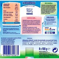 Yogolino de fresa NESTLÉ, pack 8x100 g