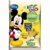 Aperitivo de cereales sabor plátano NATUR SNACK, bolsa 25 g