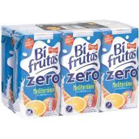 Bifrutas Zero Mediterráneo PASCUAL, pack 6x200 ml