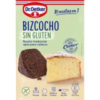 Bizcocho sin gluten DR. OETKER, caja 364 g