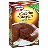 Bizcocho de chocolate sin gluten DR. OETKER, caja 374 g