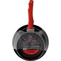 Sartén de aluminio Tokio, apto para todo tipo de cocinas, ARC, set Ø18-24-28cm, 3uds