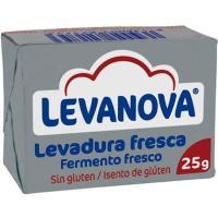 Levadura fresca LEVANOVA, pack 2x25 g