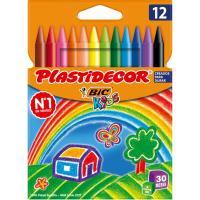 Pinturas Plastidecor BIC, 12uds