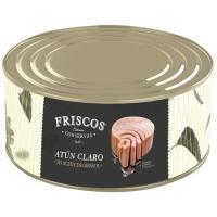 Atún claro en aceite de girasol FRISCOS, lata 900 g