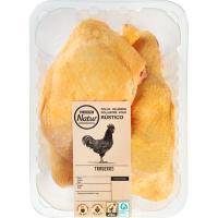Traseros de pollo EROSKI Natur, bandeja aprox. 1.2 kg