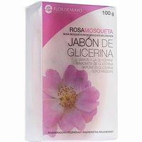 Jabón rosa mosqueta FLOR de MAYO, caja 100 g