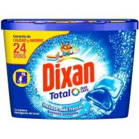 Detergente en cápsulas DIXAN, caja 24 dosis