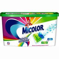 Detergente en cápsulas MICOLOR, caja 30 dosis