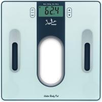 Báscula de baño analizador Grasa y agua, pilas incluídas JATA