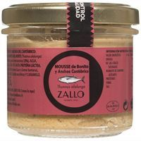 Mousse de bonito-anchoa ZALLO, frasco 115 g