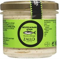 Mousse de bonito al pesto ZALLO, frasco 115 g