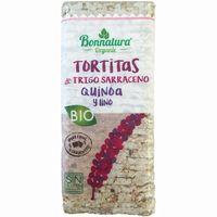 Tortitas de trigo sarraceno c. sal bio B. ORGANIC, paquete 130 g