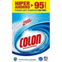 Detergente en polvo COLON, maleta 95 dosis