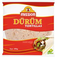 Pan durum MISSION, paquete 378 g