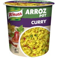 Arroz curry KNORR,pot 87g