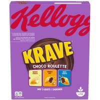 Cereales Roullete KRAVE, caja 375 g