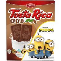 Tosta Rica al cacao CUÉTARA, caja 570 g